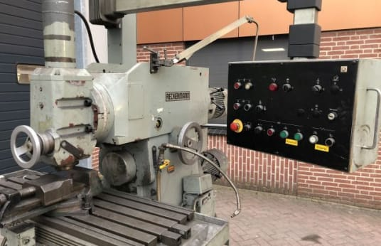 RECKERMANN Kombi 900 Pony MILLING MACHINE, MILLER + TOOLS