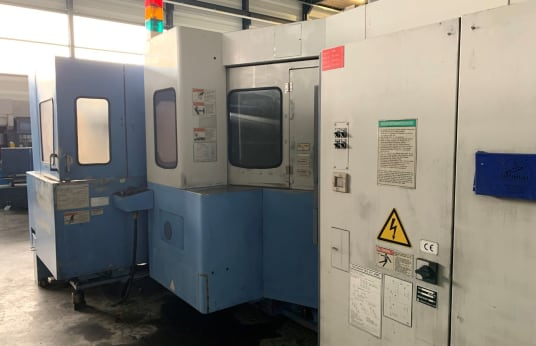 MAZAK FH 580/40 6PC Horizontal Machining Center with 6 pallet charger