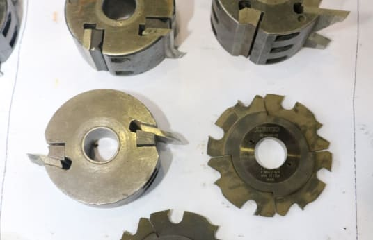 LEUCO Lot of Milling Cutters