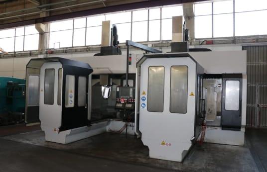 Centrum obróbkowe TECNIMETAL TWIN HORNETS DPM1000 5-Axis Type TWIN