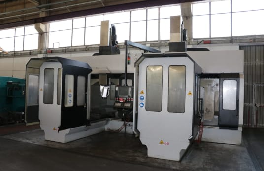 Обрабатывающий центр TECNIMETAL TWIN HORNETS DPM1000 5-Axis Type TWIN