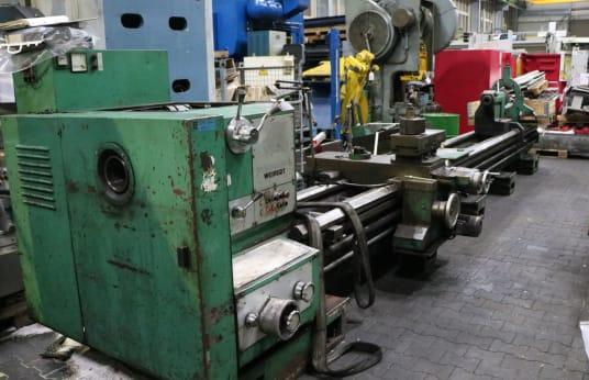 VOEST ALPINE WEIPERT W 903 x 6000 Egyetemes csúcsesztergagép