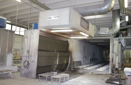 COM IMPIANTI FE 35-190 Painting Booth with Drying System