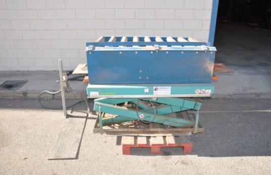 BOLZONI A210E02 Scissor Lifting Table