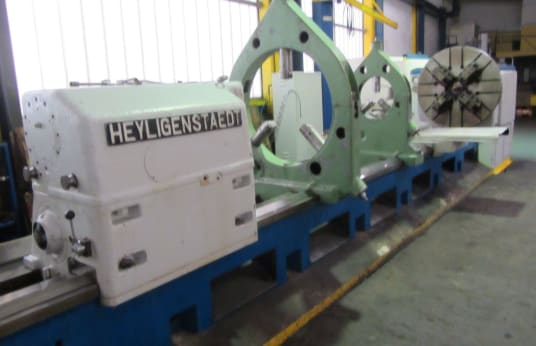 Tornio pesante HEYLIGENSTAEDT 630 EN