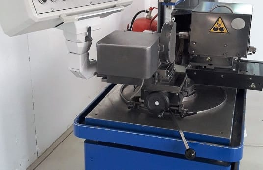 ERO AR 15 Dressing Machine for Diamond & CBN Wheels with Vacuums Cleaner Delfin