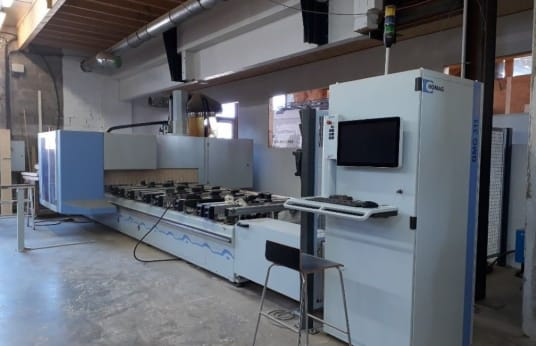 HOMAG V BMG311/60/F/K 5-axis Machining Center with EasyEdge