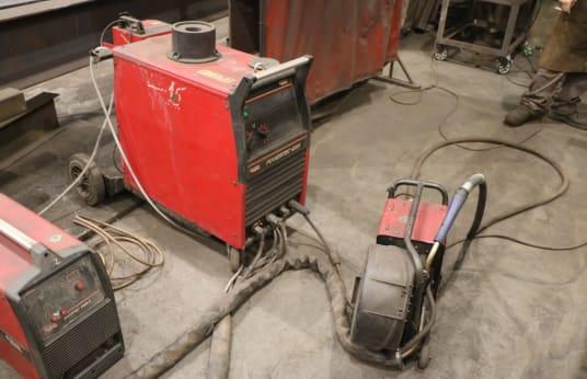 Saldatrice LINCOLN POWERTEC 420 S MIG-/MAG