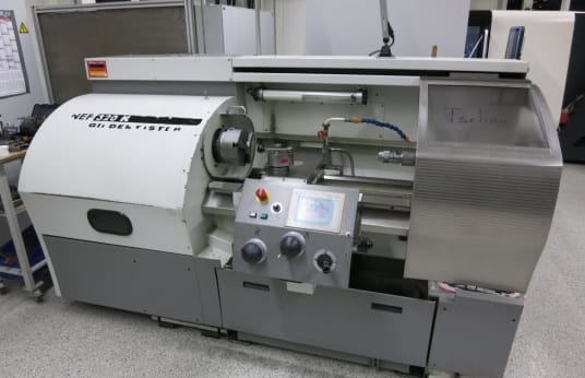 GILDEMEISTER NEF 320K Lathe Cyclone-Controlled