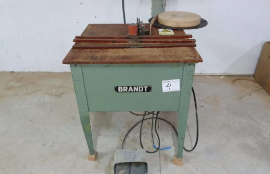 BRANDT T-3 Edgebander for Rounded Pieces