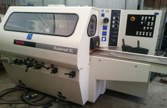 SCM SUPERSET XL Profile grinding machine