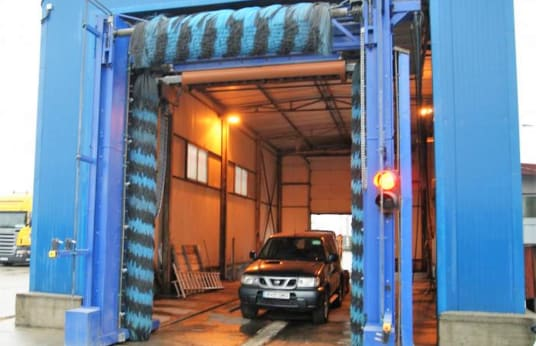 Stație automată de autocamioane și spălătorie auto CECCATO BALTIC HP 420