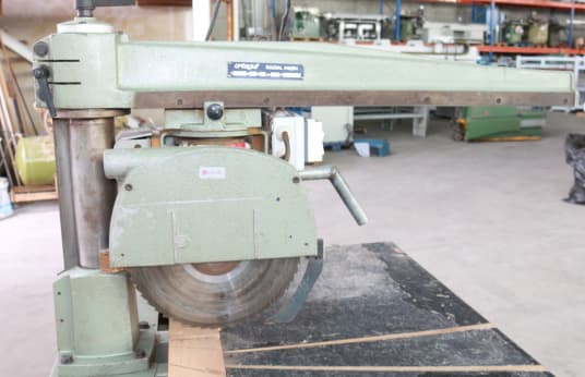 ORTEGUIL RADIAL 640 84 Radial Arm Saw