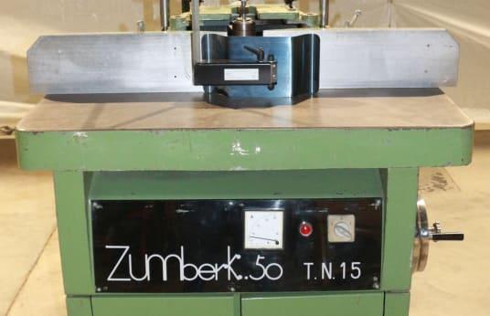 ZUMBERK 50 TN 15 Spindle Moulder