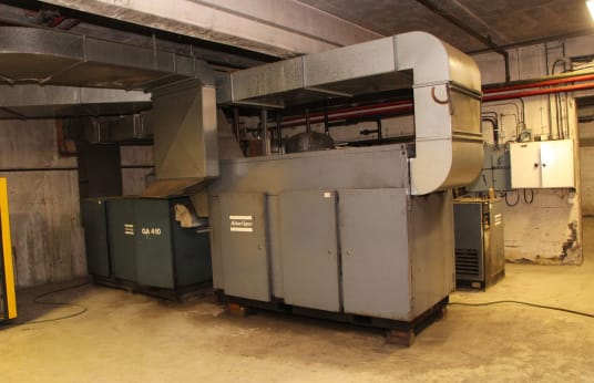 AC GA 410 + GA 708 Screw Compressors