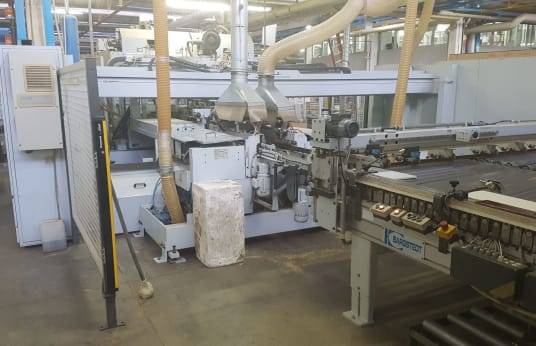 WEEKE BST 100/30/E Doorloopboormachine
