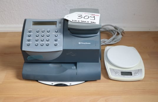 PITNEY BOWES K700 Franking machine incl. scale + scale