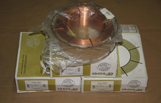 GOLD 4 Rolls Welding Wire