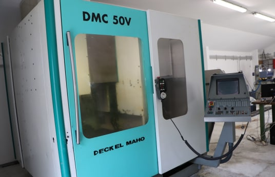 Вертикальный обрабатывающий центр DECKEL MAHO DMC 50V