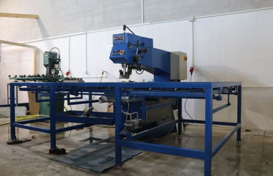 COSTRUZIONI MECCANICHE 70/2 TC Double drilling machine