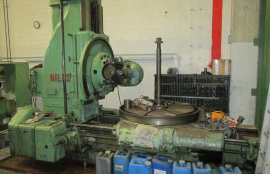 NILES RF 7 Gear hobbing machine - vertical