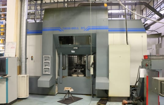 Twin-Mill D 5 Double-sided vertical machining center