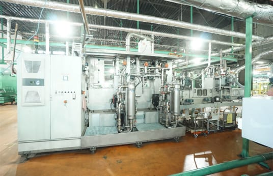 Système de lavage au défilé PILLER 1134