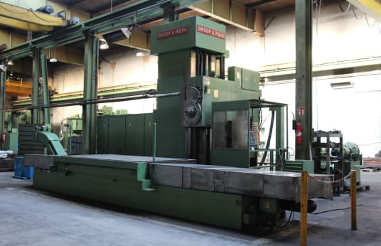 DROOP+REIN FWL 1600 LA 50 NW CNC horizontal milling and drilling machine