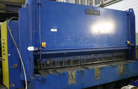 STEINER HTS 30/16 Plate Shear, hydraulic
