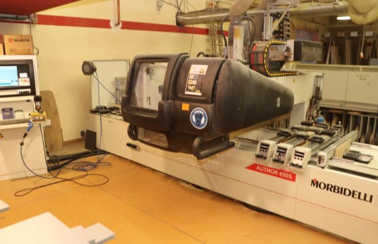 MORBIDELLI Author 430S CNC-bewerkingscentrum
