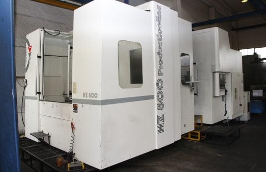 Хоризонтален обработващ център WEMAS HZ 800