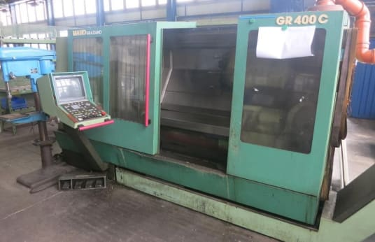 MAHO-GRAZIANO GR 400 C CNC lathe - inclined bed