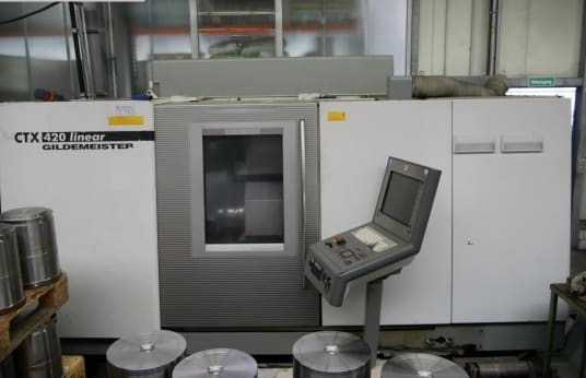 DMG GILDEMEISTER CTX 420 Liner CNC lathe - inclined bed