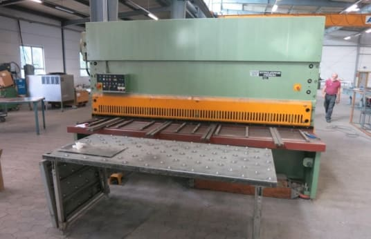 Cisaille guillotine hydraulique PIESOK NTA 3150/10A