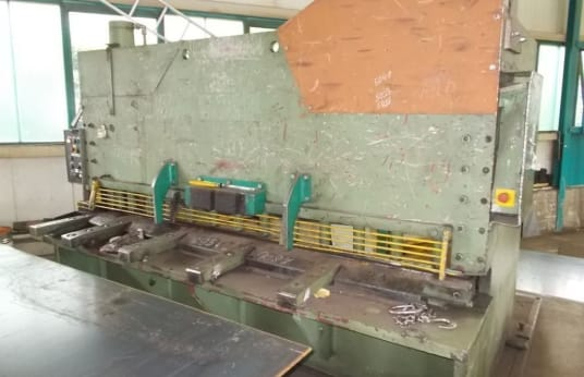 MSM COL 25-12 S Guillotine shear - hydraulic