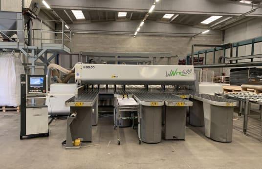 BIESSE / SELCO WNTR 600 Panel Saw with Lift Table