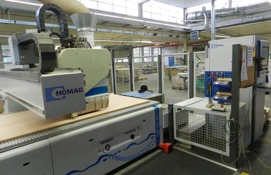 Centre d'usinage CNC HOMAG Optimat BOF 311/60/R