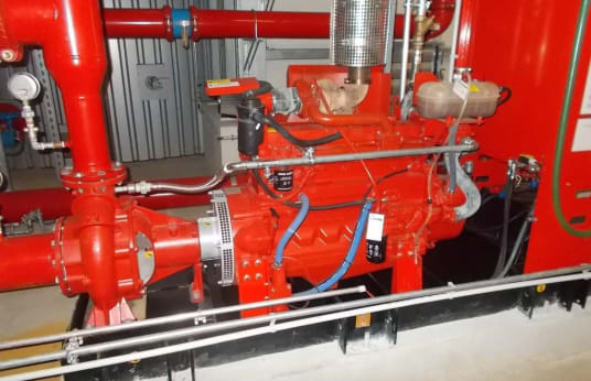 CLARKE JU6H-NLM4 FIRE PUMP ENGINES Sprinkler system