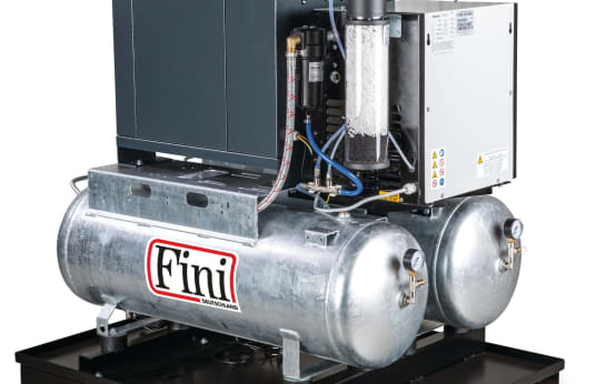 FINI DUO-MICRO SE 4.0-10 2x100 KK Screw Compressor