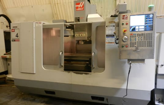 HAAS VF-4 BAPCHE CNC milling machine with exchangable table