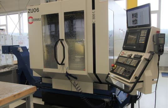 HERMLE C 800 U 5-Axis Machining Centre