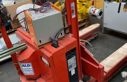 HALD 710 BLK High Lift Truck with Battery 1000 kg