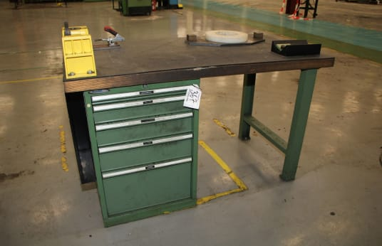 FAMI Werkbank with Drawer Cabinet