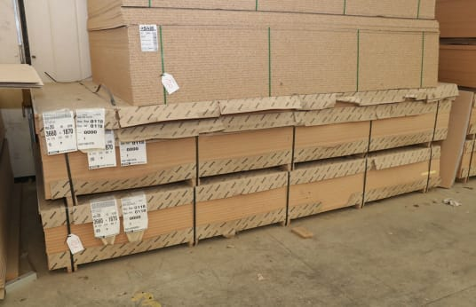 FANTONI Lot of MDF Panels (46)