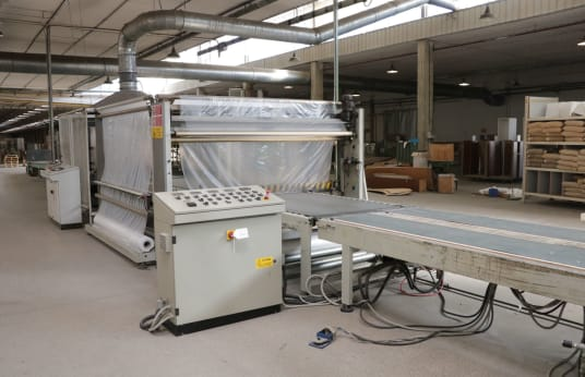 COMET 2001 Packing line with shrink film