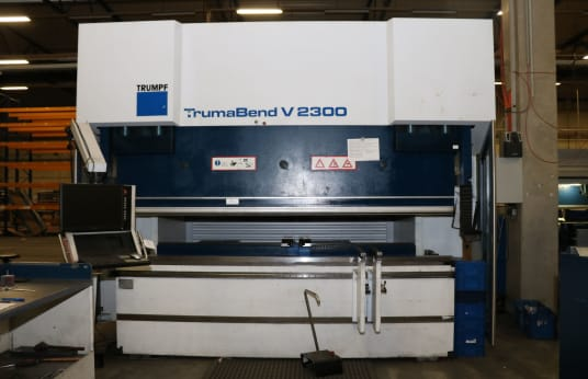TRUMPF TRUMABEND V 2300 CNC Bending Press