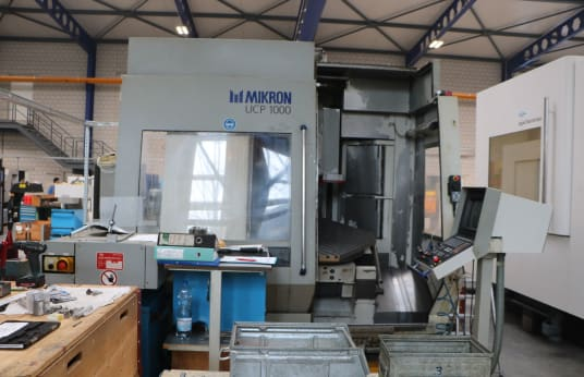 MIKRON UCP 1000 Vertical Milling Machining Centre