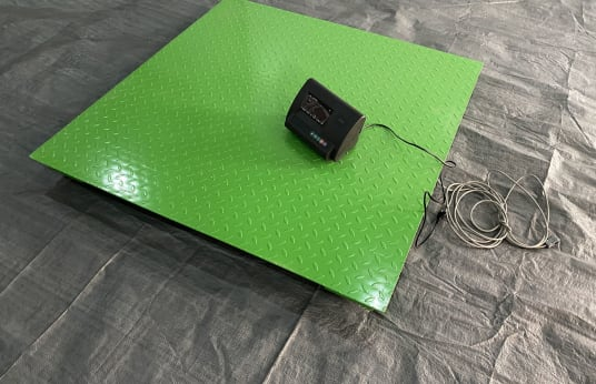 FREUTEK GOL0001 Electronic Scale for Floor Installation