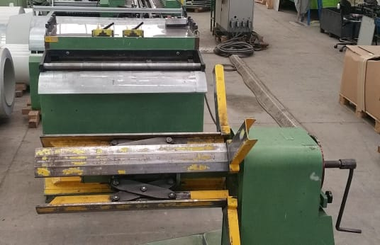 DALLAN LV DUPLEX 8+8 Duplex roll forming line for the fabrication of cassette & panel