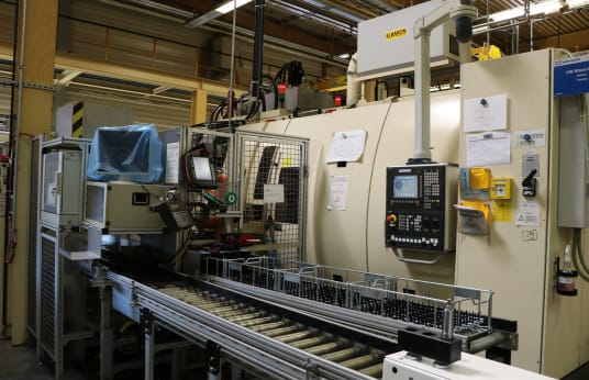 SCHÜTTE SC 9 - 46 CNC Multi-Spindle Turn Mill